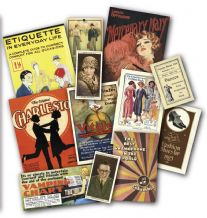 The Roaring Twenties (1920's) Memorabilia Gift Pack